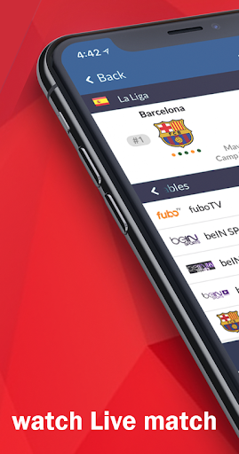 Live Soccer tv - Live Football App ab.1.0.1 Screenshots 2