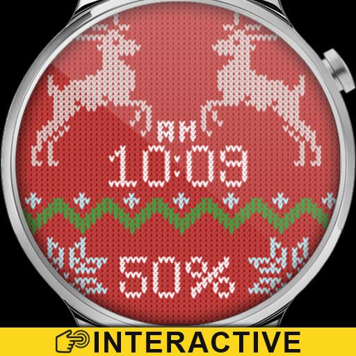 Christmas Sweater Watch Face Icon