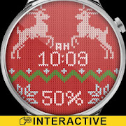 Christmas Sweater Watch Face