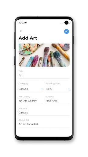 Art-Book App  Screenshots 1