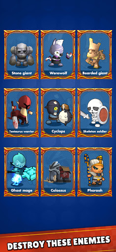 Mini War:Idle Tower Defense Varies with device screenshots 6