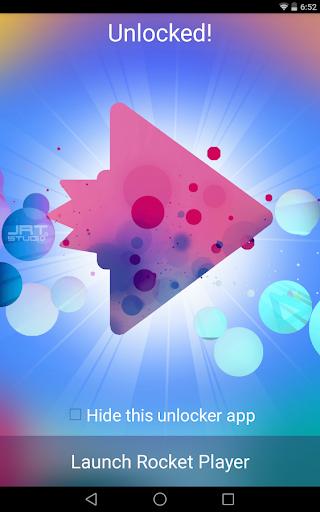 Rocket Music Player Ad Remover  screenshots 1