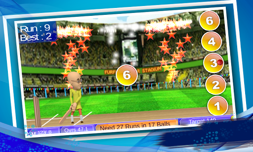 Motu Patlu Cricket Game apktram screenshots 4
