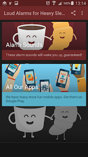 Loud Alarms for Heavy Sleepers