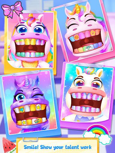 Unicorn Dentist - Rainbow Pony Beauty Salon 1.4 screenshots 5