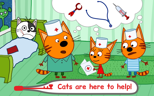 Kid-E-Cats Animal Doctor Games for Kidsu30fbPet Doctor  screenshots 9