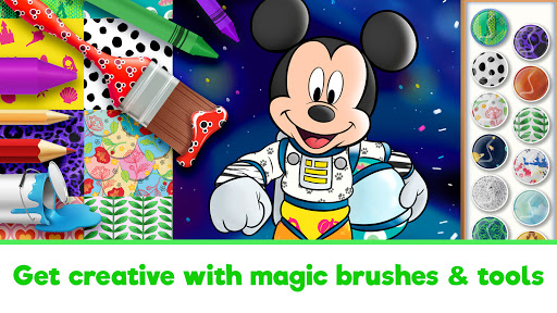 Disney Coloring World - Drawing Games for Kids 8.1.0 screenshots 3