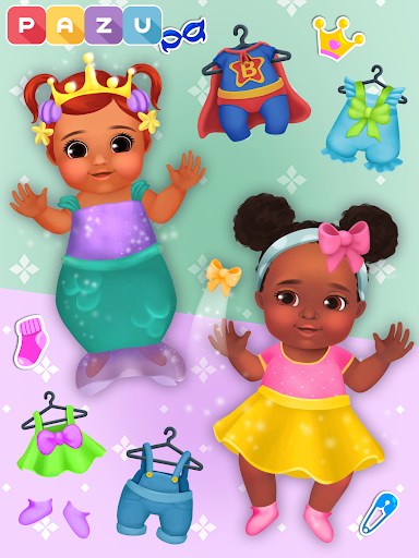 Chic Baby 2 - Dress up & baby care games for kids  screenshots 14