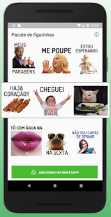 WAStickersapp figurinhas de frases diversas Screenshot