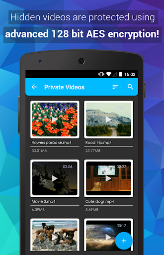 Video Locker - Hide Videos 2.1.3 Screenshots 2