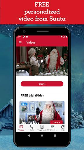 PNPu2013Portable North Poleu2122 Calls & Videos from Santa 7.0.29 screenshots 1