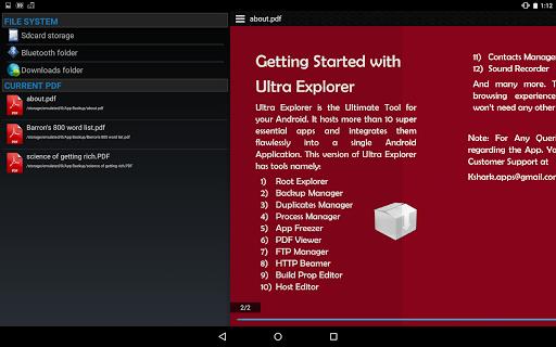 Ultra Explorer [Root Browser] 1.3.2 Screenshots 11