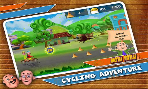 Motu Patlu Cycling Adventure 1.1.2 screenshots 4