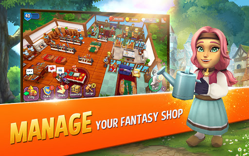 Shop Titans: Epic Idle Crafter, Build & Trade RPG 6.3.0 screenshots 8