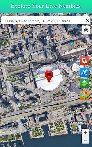 Live Satellite View GPS Map Travel Navigation screenshot 2