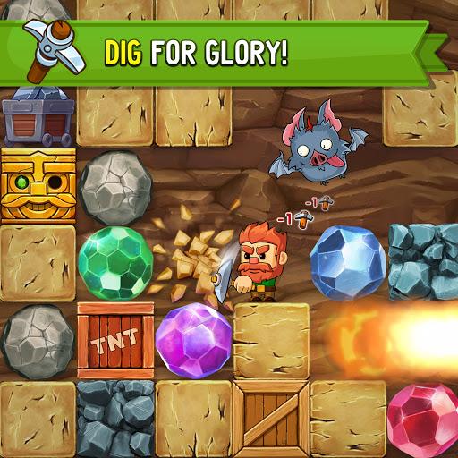 Dig Out! - Gold Digger Adventure  screenshots 8