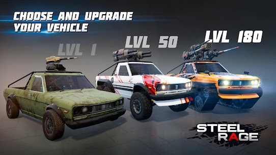 Steel Rage : Mech Cars PvP War, Twisted Battle 2021 4