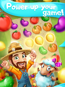 Funny Farm match 3 Puzzle game! 9