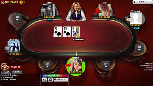 FacePoker Texas Holdem Poker 2.9 screenshots 5