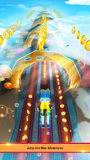 RUN RUN 3D 3 - Hyper Water Surfer Endless Race 500.8.0 screenshots 16