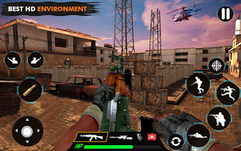 offline shooting game Mod Apk (Dumb Enemy) 7