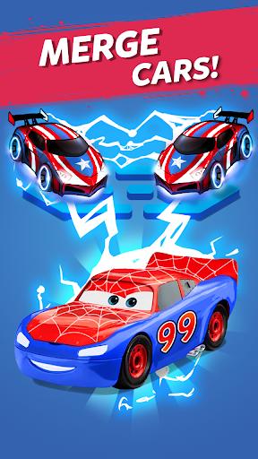 Merge Neon Car: Car Merger screenshots 5