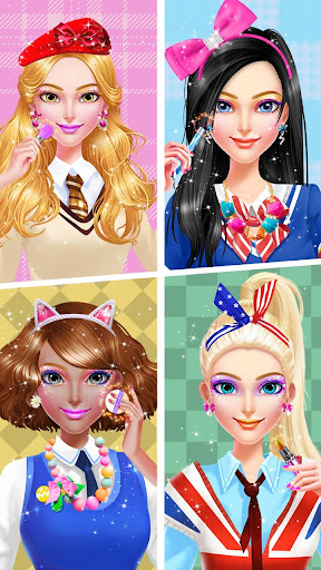 ud83cudfebud83dudc84School Uniform Makeover  screenshots 10
