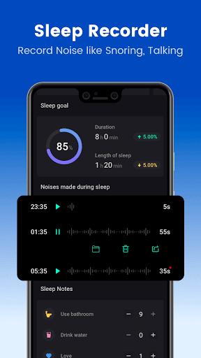 Sleep Monitor: Sleep Recorder &Sleep Cycle Tracker  Screenshots 3