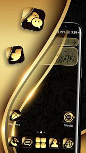 Gold Black Launcher Theme