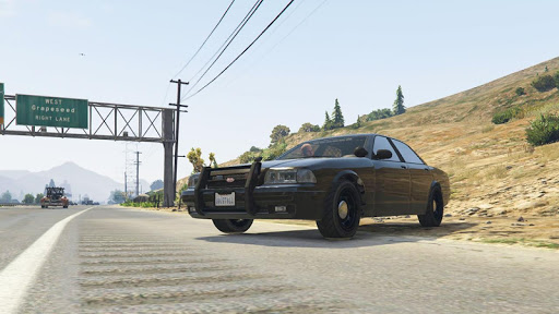 Police Cop Chase Racing: City Crime android2mod screenshots 6