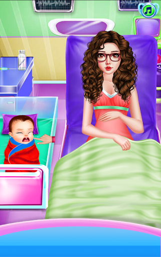Newborn Care Game Pregnant games Mommy in Hospital apktram screenshots 14