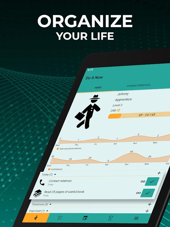 Do It Now: RPG To Do List. Habit Tracker. Planner  poster 14