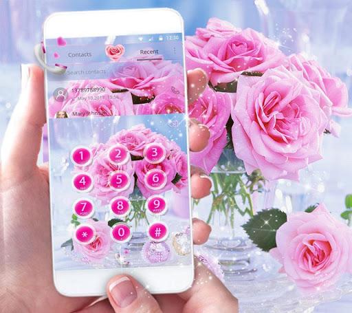 Pink Rose Love Theme 1.2.2 Screenshots 2