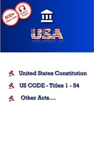 Law App  United States Code, Acts, Constitution… Apk 1