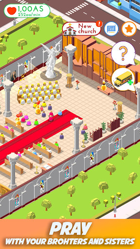 Foto do Idle Church Tycoon: Jesus Loves you