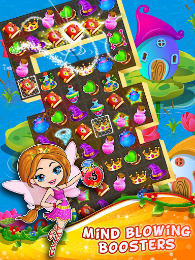 Fairy Tale ud83cudf1f Match 3 Games apkpoly screenshots 13