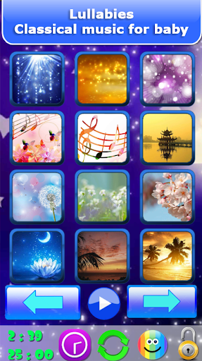 Baby sleep sounds: white noise, nature 2.2 Screenshots 5