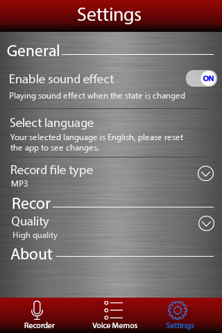 Voice recorder 1.38.463 Screenshots 4