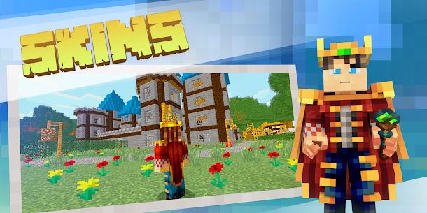 Download Minecraft MOD APK 1.16.210.60 (Unlocked Premium Skins) MOD 4
