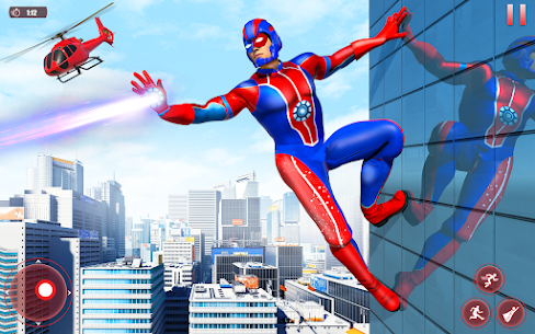 Flying Robot Superhero MOD APK (Unlimited Money) 1