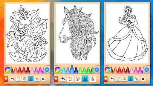 Girls games: Painting and coloring  screenshots 16