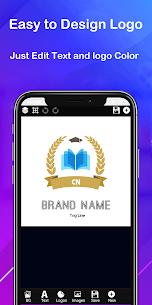 Logo maker 2021 3D logo designer, Logo Creator app 5