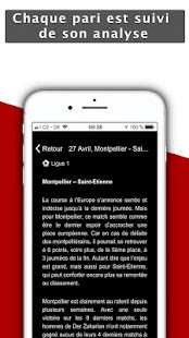 BlackBet Pronos 1.5 Screenshots 3