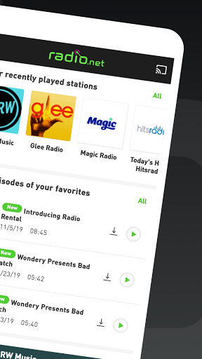 radio.net - Tune in to more than 30,000 stations apkpoly screenshots 2