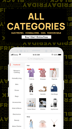 Dealy-The latest e-commerce online store 1.13 Screenshots 4