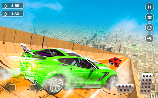 Mega Ramp Car Simulator – Impossible 3D Car Stunts modiapk screenshots 1