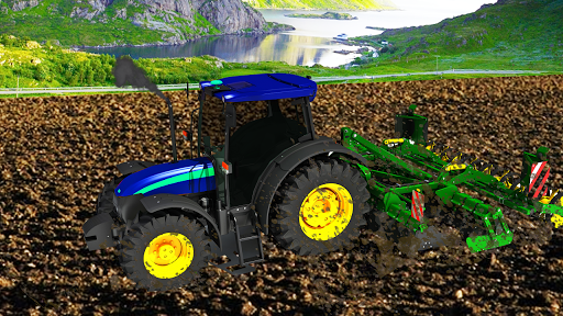Village Tractor Games:Chained Tractor Offroad Game 1.00.0000 screenshots 3