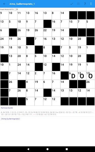 Codeword Puzzles Word games, fun Cipher crosswords 7.5 screenshots 15