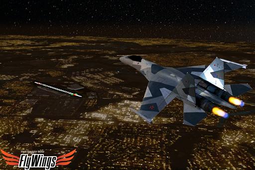 Flight Simulator Night - Fly Over New York NY 1.0.1 screenshots 4