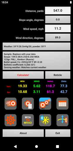 Download APK: Strelok Pro v6.0.9 [Paid] [SAP]